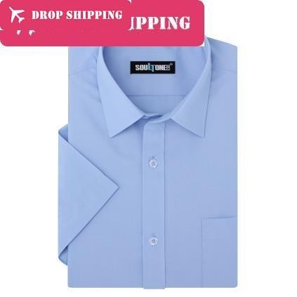 Dropshipping 9 Colors Good Quality Brand ,mens Big Size Xs-8xl Long Sleeve Business Dress Shirt , Mens Work Shirt G5d6