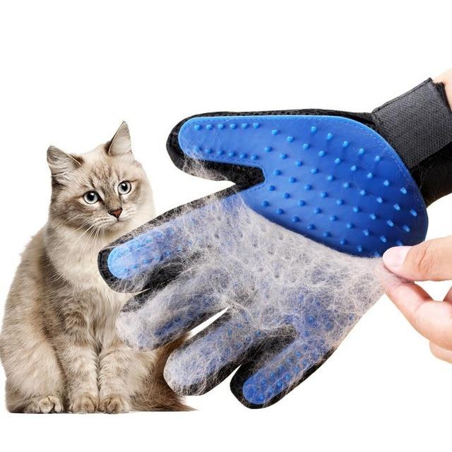 1 шт. силиконовая щетка для собак, кошек, домашних животных, перчатка для удаления кистей, мягкий эффективный уход за питомцами, перчатка для чистки ванной, принадлежности для чистки перчаток, расчески