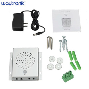 Image 5 - Wireless PIR Motion Sensor MP3 Sound Doorbell Human body Induction Audio Music Player Voice Reminder Device with USB Port