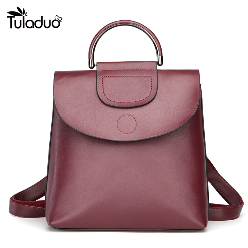 2018 New Fashion Women Backpack PU Leather Girls School bag England Style Shoulder Bag For Girls Travel Rucksack 2017 brand designer women simple style backpack fashion pu leather black school bag for girls large capacity shoulder travel bag