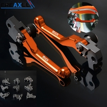 For KTM 450XCR-W 450XCRW 530XCR-W 530XCRW 2005-2013 Moto Levers CNC Motorcycle Pit Dirt BIKE Pivot Foldable Brake Clutch