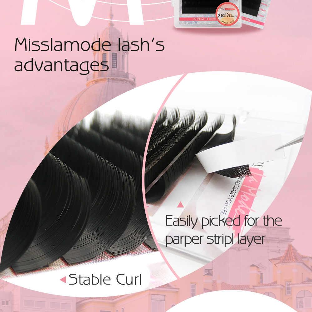 Misslamode 16 рядов/лоток русский объем ресниц поставки наращивание ресниц индивидуальные ресницы для наращивания