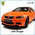 Г-н Froger Масштаб 1:18 M3 GTS Мини Коллекционная Модель Cars Детские Игрушки для Детей, Литье Под Давлением Модели M Power Metal Car Toys For Boys Б. М.