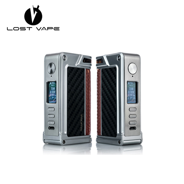 US $165 99 |Original Lost Vape Paranormal DNA 75C MOD BOX 510 Thread  Connection with DNA 75 Chipset Lostvape Paranormal DNA75C Ecig Vape Mod-in