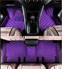 Best quality! Custom special floor mats for Volkswagen EOS Convertible 2013 waterproof carpets for EOS 2012-2010,Free shipping