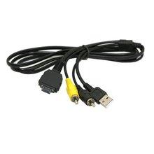 USB & AV TVOUT Kabel VMC MD1 für Sony Kamera DSC W150 W170 W200 W300 N1 N2  W70 W80 W80HDPR T70 t100 T200 T300 H7 W130 W150