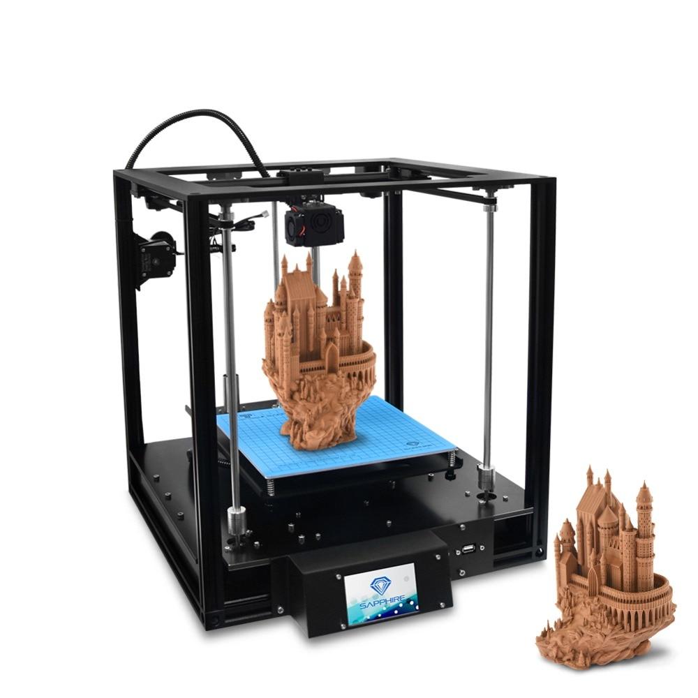 FDM imprimante 3D 3.5 pouces écran tactile reprendre l'impression fonction de détection de Filament Titan extrudeuse Core-XY Structure bricolage imprimante 3D