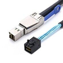 MINI SAS 36 PIN SFF 8643 do SFF 8644 dysk twardy serwera podwozie linii przesyłowej