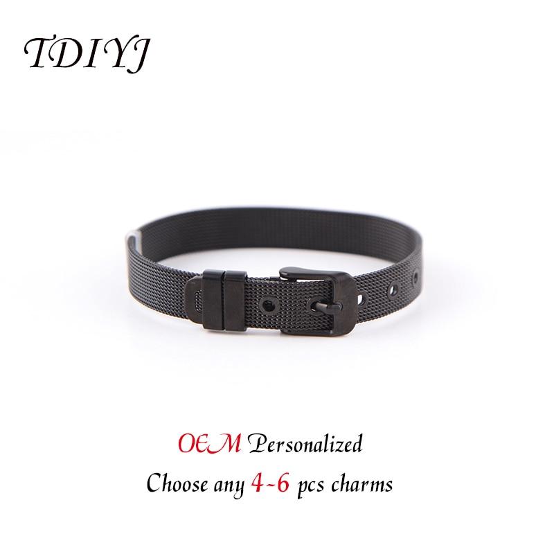 Купить женский сетчатый браслет tdiyj keeper из нержавеющей стали 4