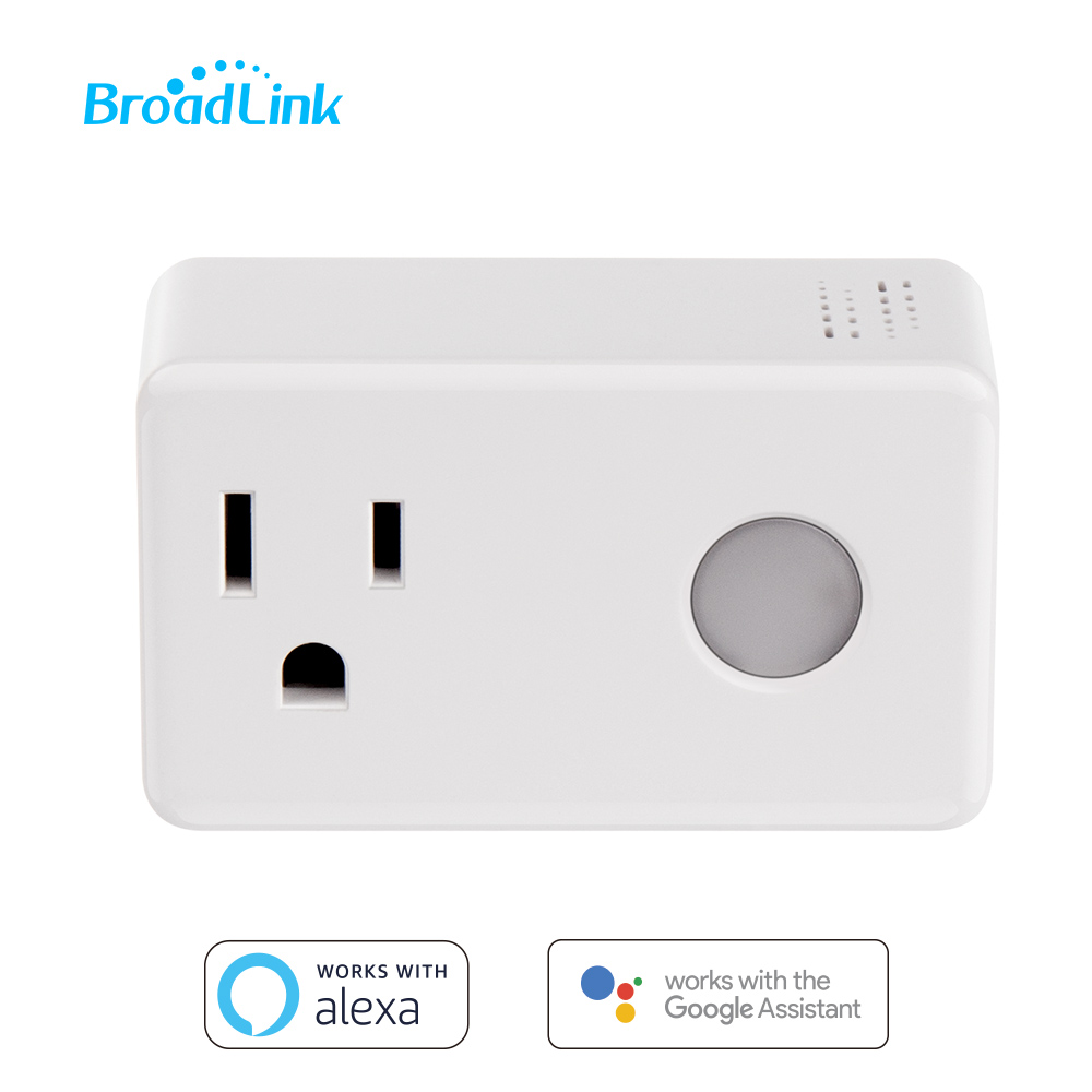 Broadlink SP3 Smart Plug Socket US Timer Switch Smart Home Controller WiFi Control Wireless Power Socket Plug for ALexa Google-in Smart Power Socket Plug from Consumer Electronics