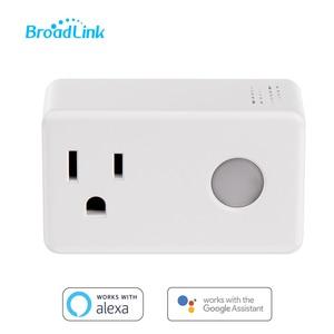 Image 1 - Broadlink SP3 Smart Plug Socket US Timer Switch Smart Home Controller WiFi Control Wireless Power Socket Plug for ALexa Google