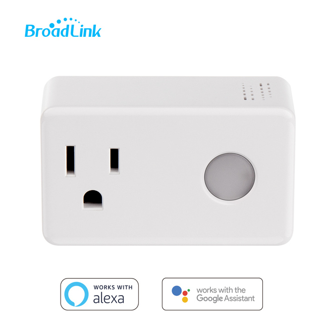 Broadlink SP3 Smart Plug Socket US Timer Switch Smart Home Controller WiFi Control Wireless Power Socket Plug for ALexa Google
