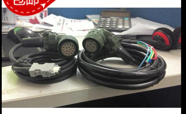 3M cables Motor SGMGH-30ACA61 Driver SGDM-30ADA Encoder Cable Wire цена