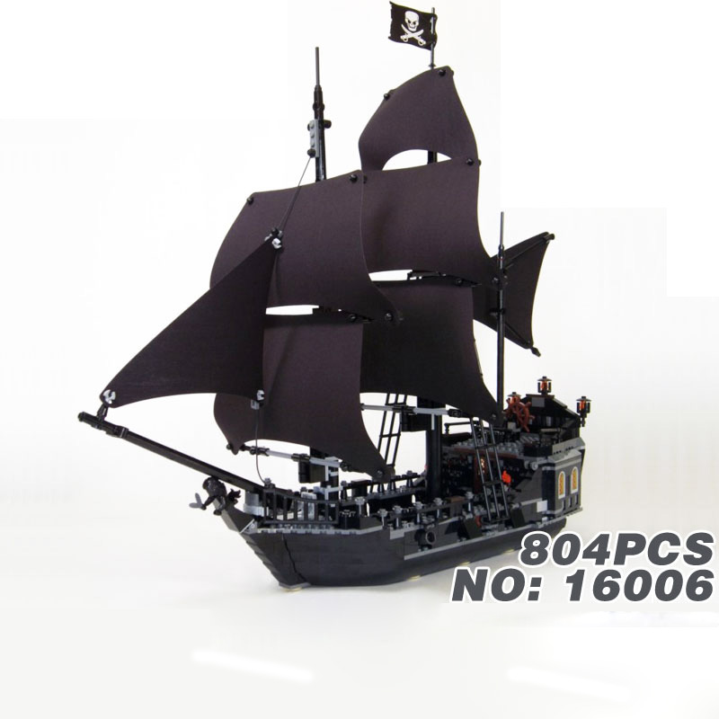 Hot movie Pirates of the Caribbean The Black Pearl ship building block model Captain Jack figures bricks 4184 toys collection kazi 608pcs pirates armada flagship building blocks brinquedos caribbean warship sets the black pearl compatible with bricks