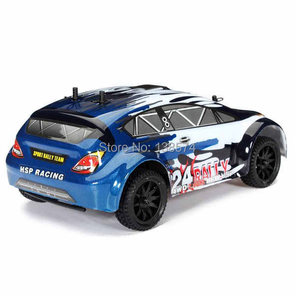 Hsp 94248 rally24 1/24th sport 4wd 2.4 ghz rc afstandsbediening rally auto