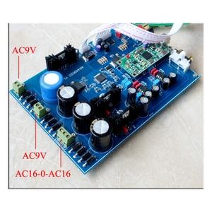 Image 2 - KaolanhonAC כפול 9V שני אחת AK4495 הכפול מפענח מקביל לוח מגבר מפענח DAC סיים לוח סיבי קואקסיאלי USB קלט