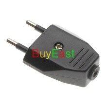 10 X Евросоюз CEE 7/16 Тип C rewireable Power Plug черный цвет