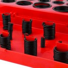 419 силиконовые прокладки Ассорти уплотнительное кольцо резиновое уплотнение R-01 до 32 набор гаражный сантехника с красный чехол
