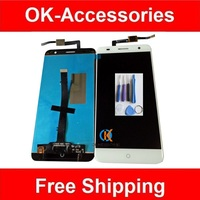100 High Quality White Black Color For ZTE Blade V7 LCD Display Touch Screen Digitizer Assembly