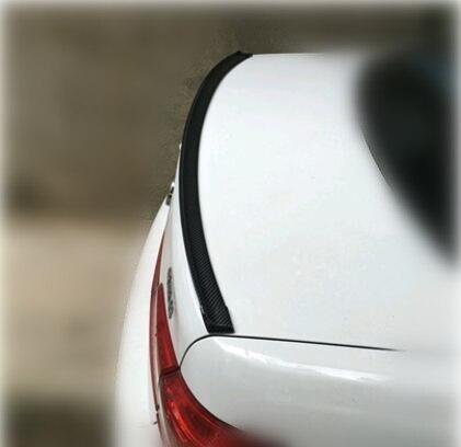 Autocollants décoratifs de queue de voiture en caoutchouc pour renault scénic 2 hyundai solaris subaru impreza volvo v50 mustang honda jazz