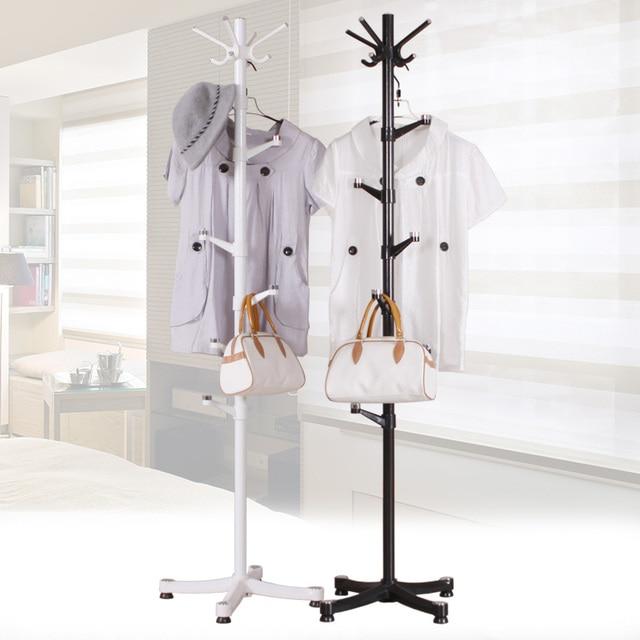 The Bedroom Floor Coat Hanger Assembly Simple Coat Rack Lazy Living Room  Vertical Clothes Rack