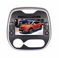 """YOKOTRON"" 8"" Capacitive Touch Android 4.4 Car Radio DVD Autoradio for Renault Kaptur Captur Clio2013-2015+GPS+Free Rear Camera"