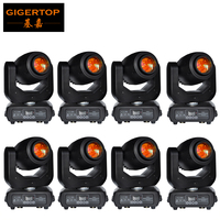 Wholesales Price 8 Units 150W High Power Led Spot Moving Head Lighting For DJ Stage Party Concert Event Smooth Quick X/Y Moving