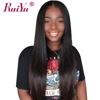 13x4 Lace Front Human Hair Wigs Brazilian Wig Human Hair Straight Lace Front Wig For Black Women RUIYU Hair Lace Wigs Remy 8 26'
