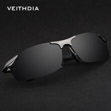 VEITHDIA Brand Aluminum Polarized Sunglasses Sports Men Sun