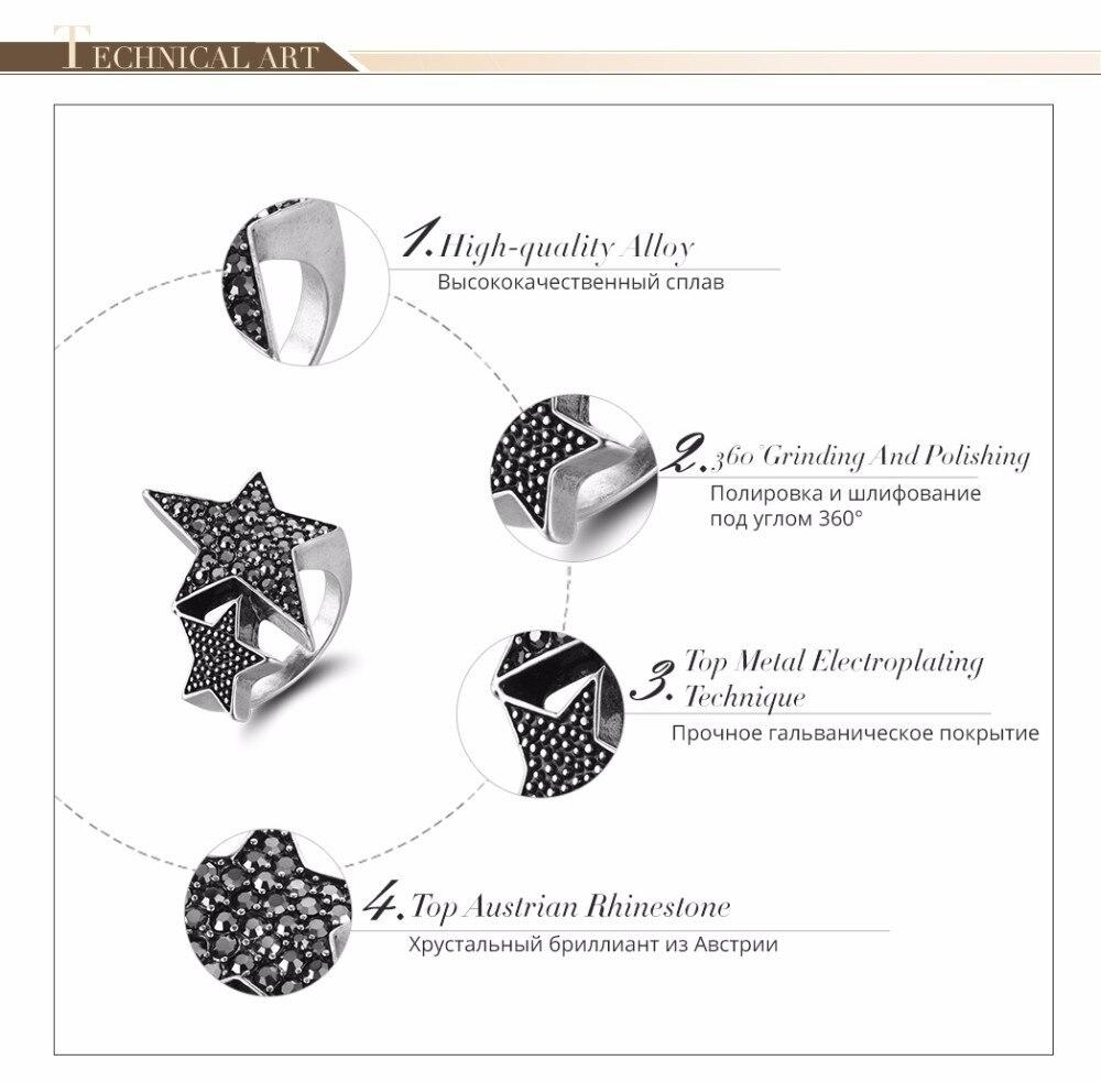 2 Filas Cristal estiramiento anillo múltiples opciones