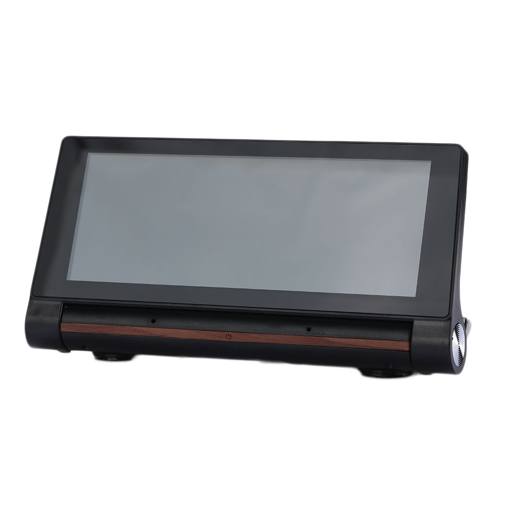 Vehemo 6.86inch Dual Lens Car GPS Video G-Sensor GPS Navigator GPS DVR Camera Recorder