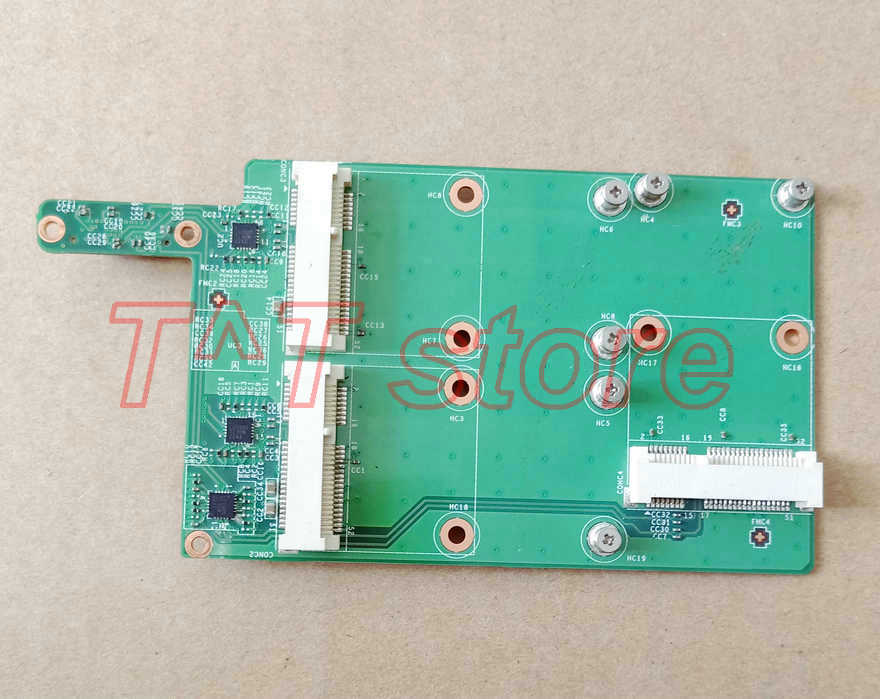 original GT60 GT70 MS-16F2 MS-16F3 MS-16F4 MS-1761 MS-1762 MS-1763 3 mSATA SSD HARD DRIVE BOARD MS-16F42 test good free shipping