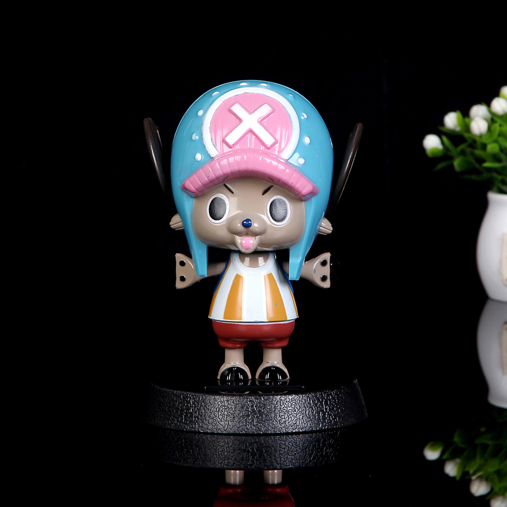 Image 2 - Car Ornament Cute Hot Solar Powered Dancing Figures Pokemon One Piece Swinging Bobble Dancer Solar Toys Car Decoration Gift-in Ornaments from Automobiles & Motorcycles