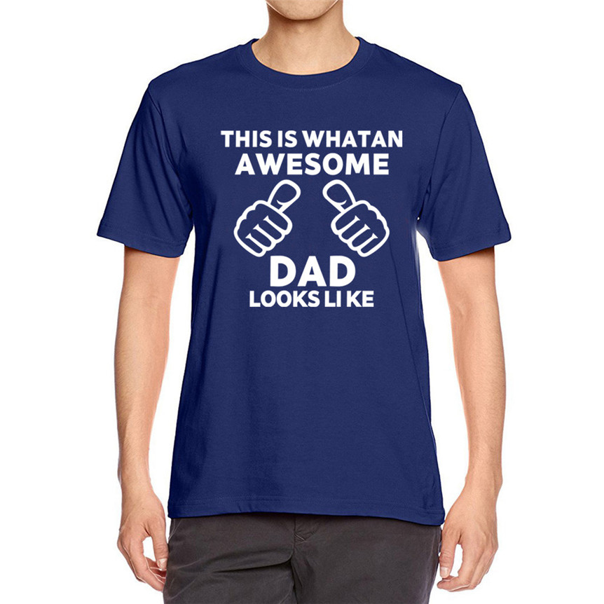This is What Awesome Dad Looks Like Gift T-Shirt
