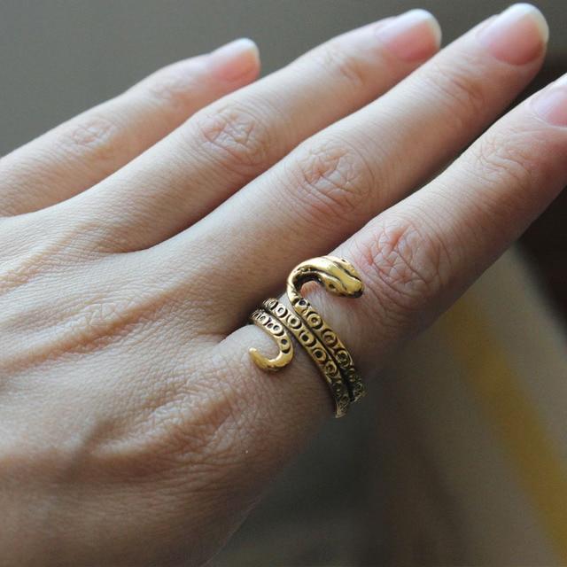 Favoloso Moda antico egitto faraone serpente dell'anello di Trasporto  HP71