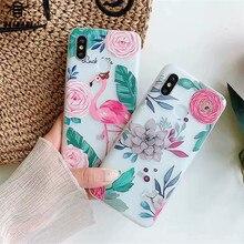 Case For xiaomi redmi 4x Cover Redmi Note 5 case 6x 5x 8 mix 2 2s  3D flower relief silicone Cases