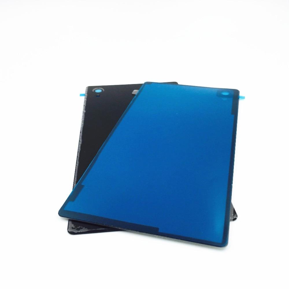Vannego couvercle de la batterie Pour Sony Xperia M4 Aqua E2303 E2333 retour de Batterie En Verre Porte Logement Arrière de Remplacement Pièces De Rechange Avec NFC