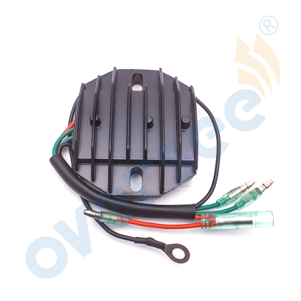 OVERSEE 6AH-81960-00 RECTIFIER & Regulator For YAMAHA 4 Stroke 15HP 20HP F15 F20 Outboard Engine oversee 63v 15710 12 manual starter assy for yamaha parsun 9 9hp 15hp 63v outboard engine 2 stroke t15