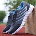 De Malla de aire de Los Hombres Lienzo Zapatos de Deporte 2017 de Los Nuevos Hombres Zapatos Casuales Zapatos de Hombre Con Cordones Respirable del Verano Marca Caminando Zapatillas Hombre