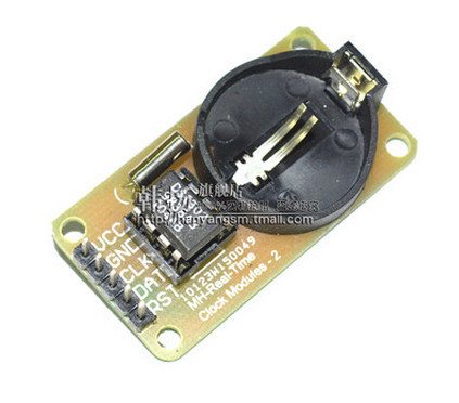 Free shipping 1pcs Smart Electronics DS1302 Real Time Clock Module for arduino UNO MEGA Development Board Diy Starter Kit