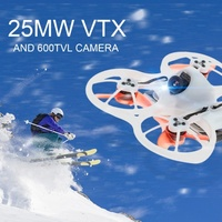 EMAX Tinyhawk RTF 75mm Mini Drone sin escobillas 600TVL Cámara RC helicóptero libre FPV gafas transmisor bolsa de hombro