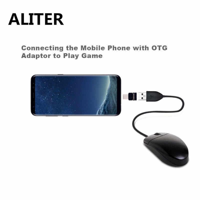ALITER typ C na USB adapter złącza OTG na pamięć USB S8 Note8 telefon z systemem android