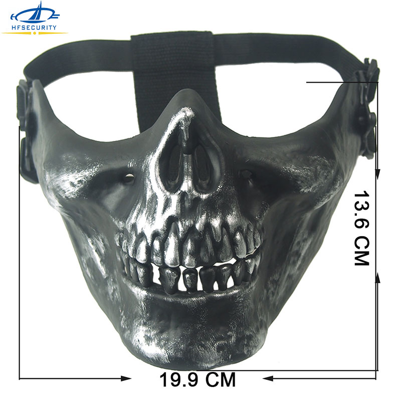 HFSECURITY Ghost Camouflage Tactical Skull Mask Face ...