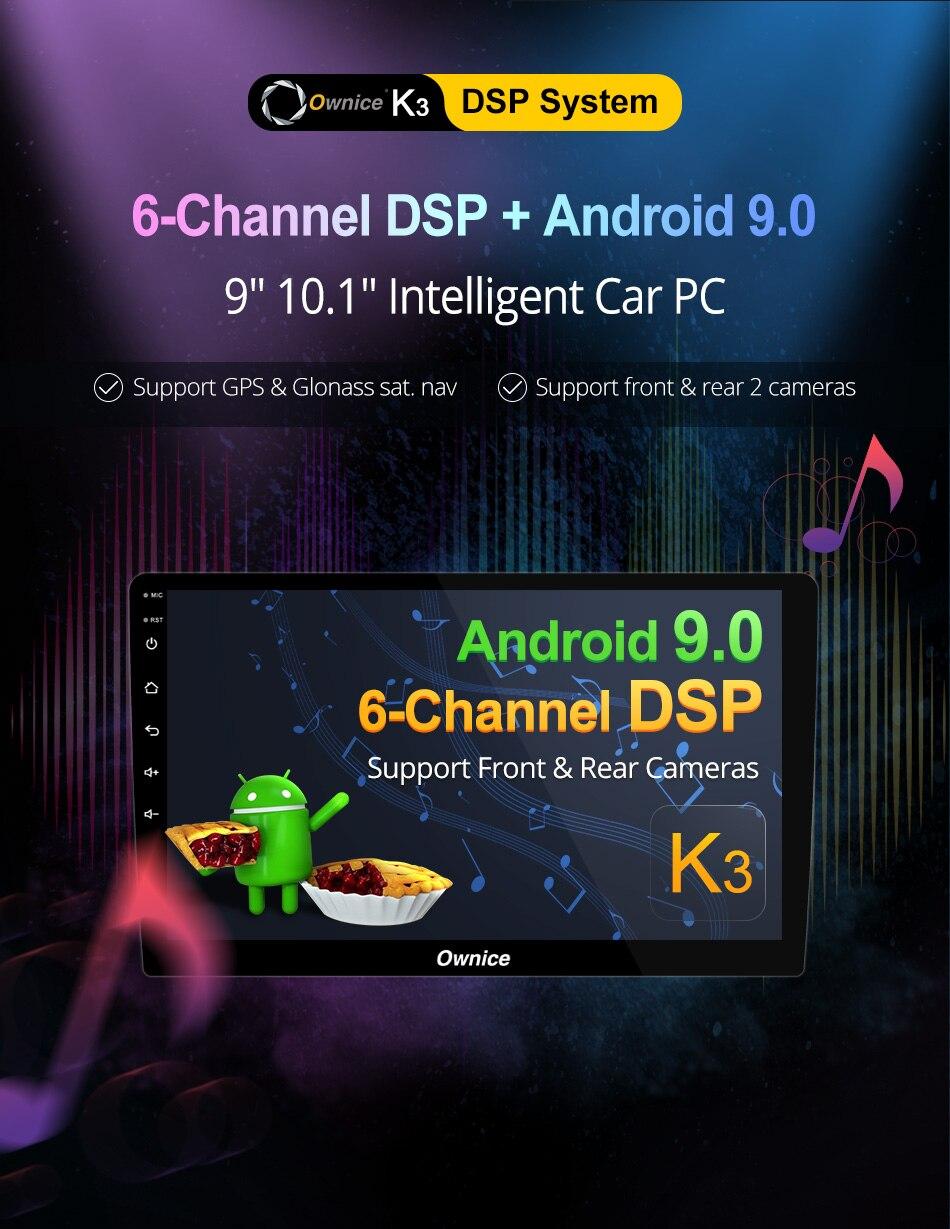 Ce lien est pour la Description du produit de la série Ownice K3, ne se vend pas séparément