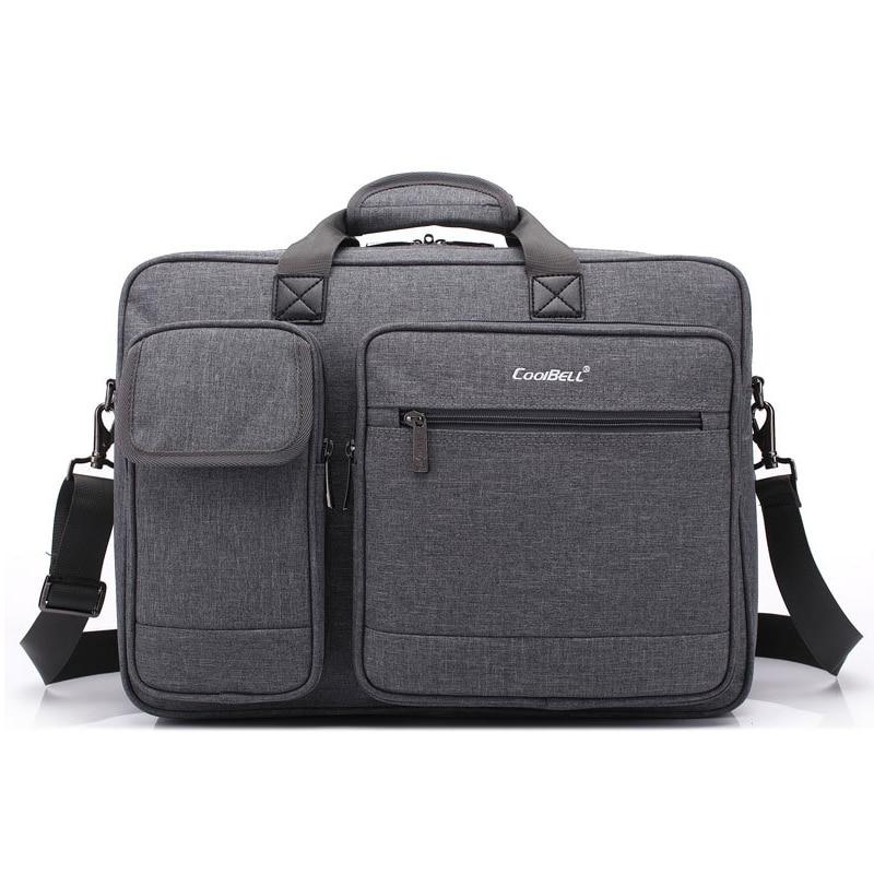 0a8ea0e99e54 US $37.79 16% OFF|2018 hot Nylon messenger Shoulder portable handbag For  macbook pro 15 17 17.3 Retina 15.4 15.6 Laptop bag 14 Notebook backpack-in  ...