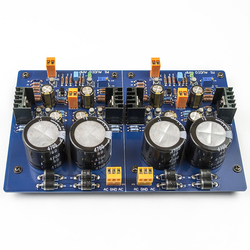 Assembled M1-Hi-end Preamplifier Board (2 Channle Pre-amplifier Board) assembled tas5630 2 1 digital amplifier board 300w 150w 150w