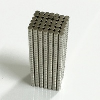 100 Pieces/Pack 3*2mm Magnetic Materials Neodymium Magnet Mini Small Round Disc Newest
