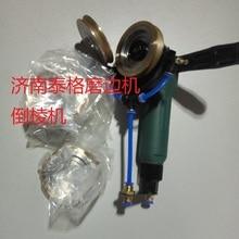 Портативная пневматическая кромкооблицовочная машина для стекла