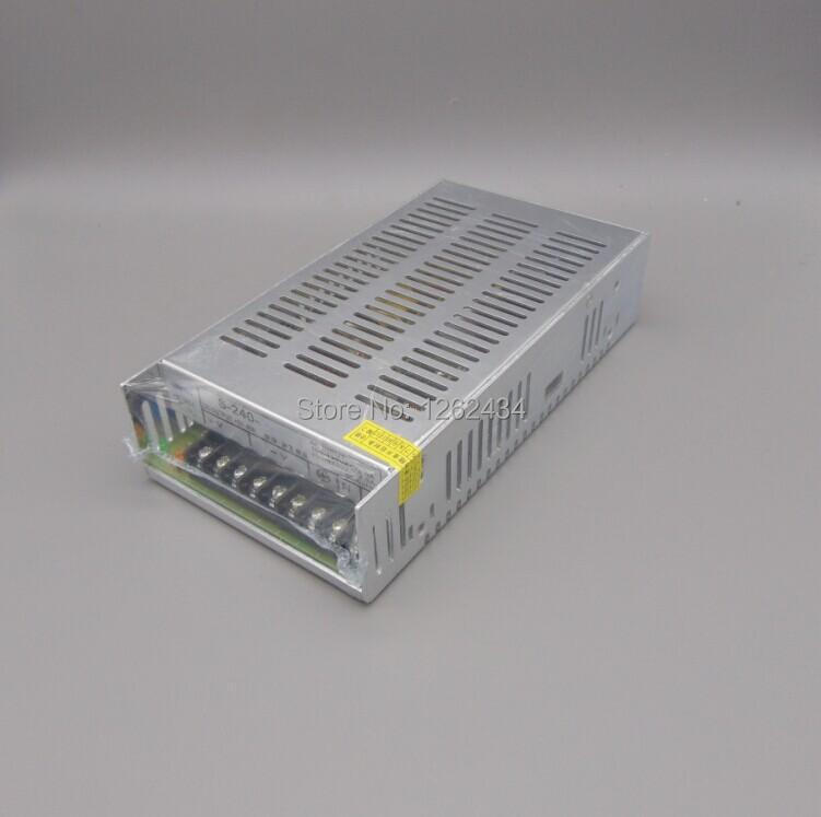 S-240-24 switching power supply monitoring power 24v10A 240W LED power supply s 240 5 5v 40a 240w 5v switching power supply monitoring power transformer