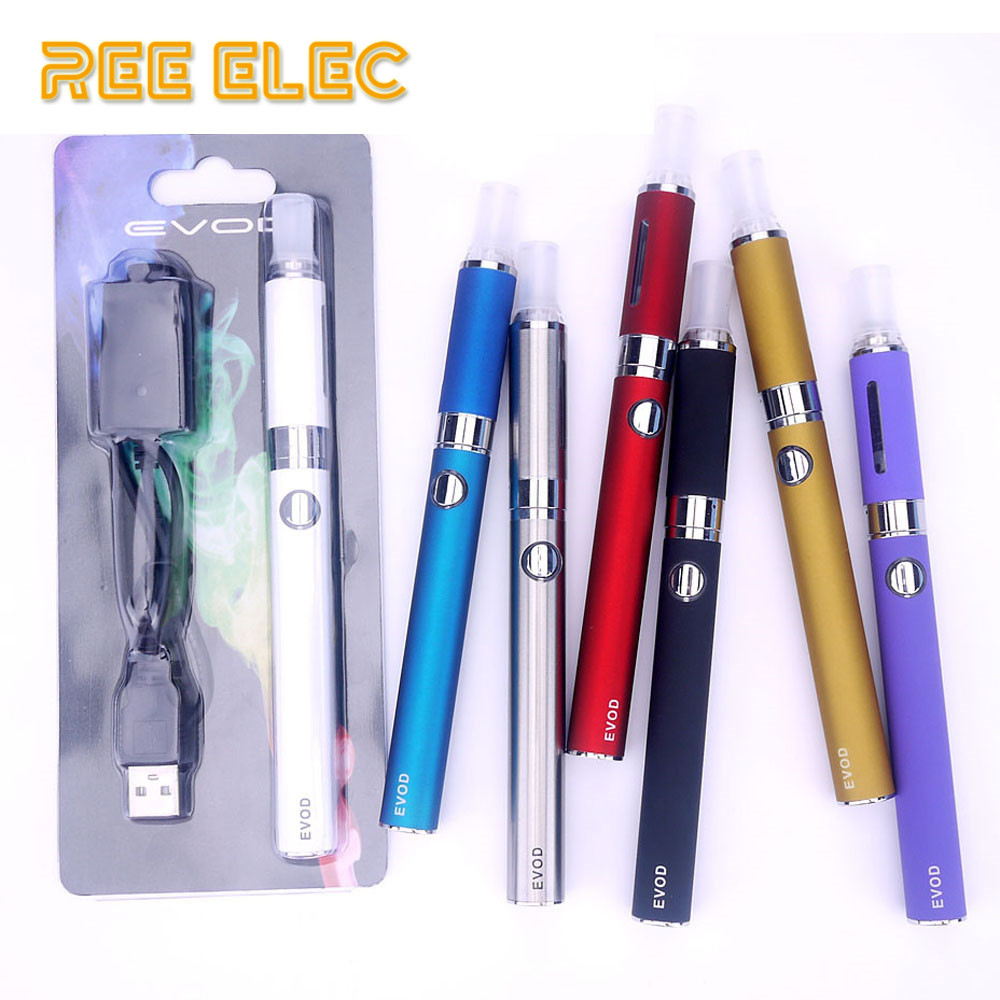 Clearance SALE Evod Electronic Cigarette Starter Kit Mt3 2.4ml Atomizer 900mAh Battery Electronic Hookah Vape Pen Set